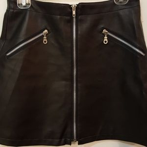 Dresses & Skirts - Neutral Zone black faux leather skirt